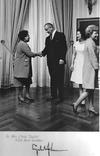 Grandmother with President Lyndon B. Johnson and First Lady Johnson